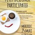 Vous êtes invités pour un petit déjeuner convivial, pour échanger autour du projet social !