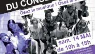 Rendez vous pour la découverte du Conservatoire ! le Samedi 14 mai de 10h à 18h,